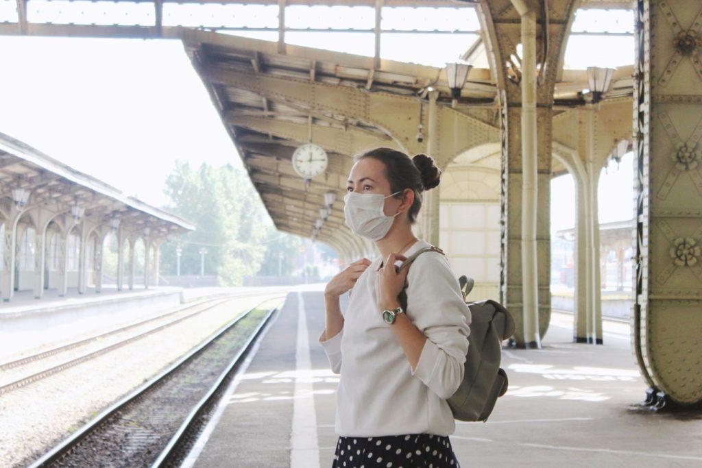 Riesgo de contagio en el tren.